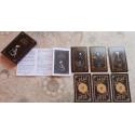 Baralho o Tarot Negro 22 Cartas - com manual explicativo