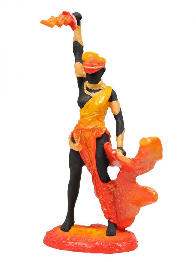 Escultura Orixá Egunitá