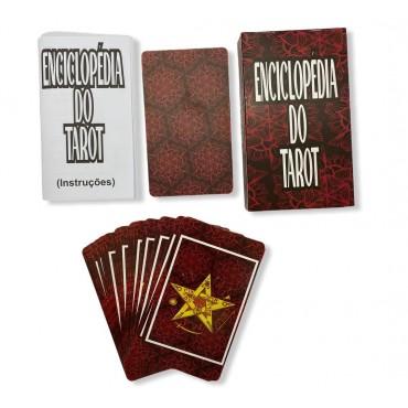 Baralho Enciclopédia do Tarot  24 cartas com manual explicativo