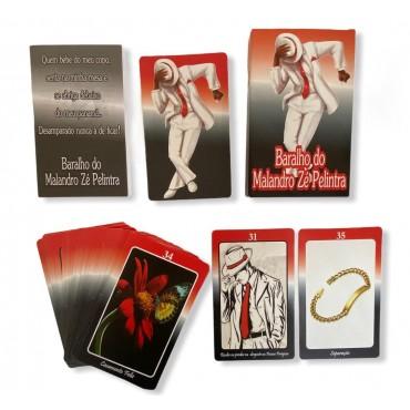 Baralho Tarot Malandro Zé Pelintra 36 cartas com manual