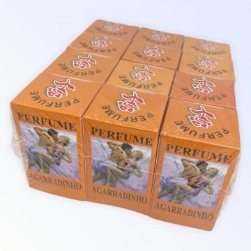 Kit com 12 unidades O legítimo Perfume Agarradinho 10 ml - Atacado